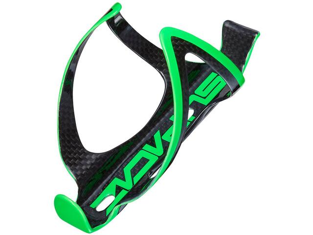 Supacaz Fly Cage Carbon Porte-bidon, neon green